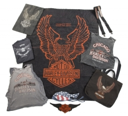 PATRICK SWAYZE HARLEY-DAVIDSON SHIRTS AND GEAR