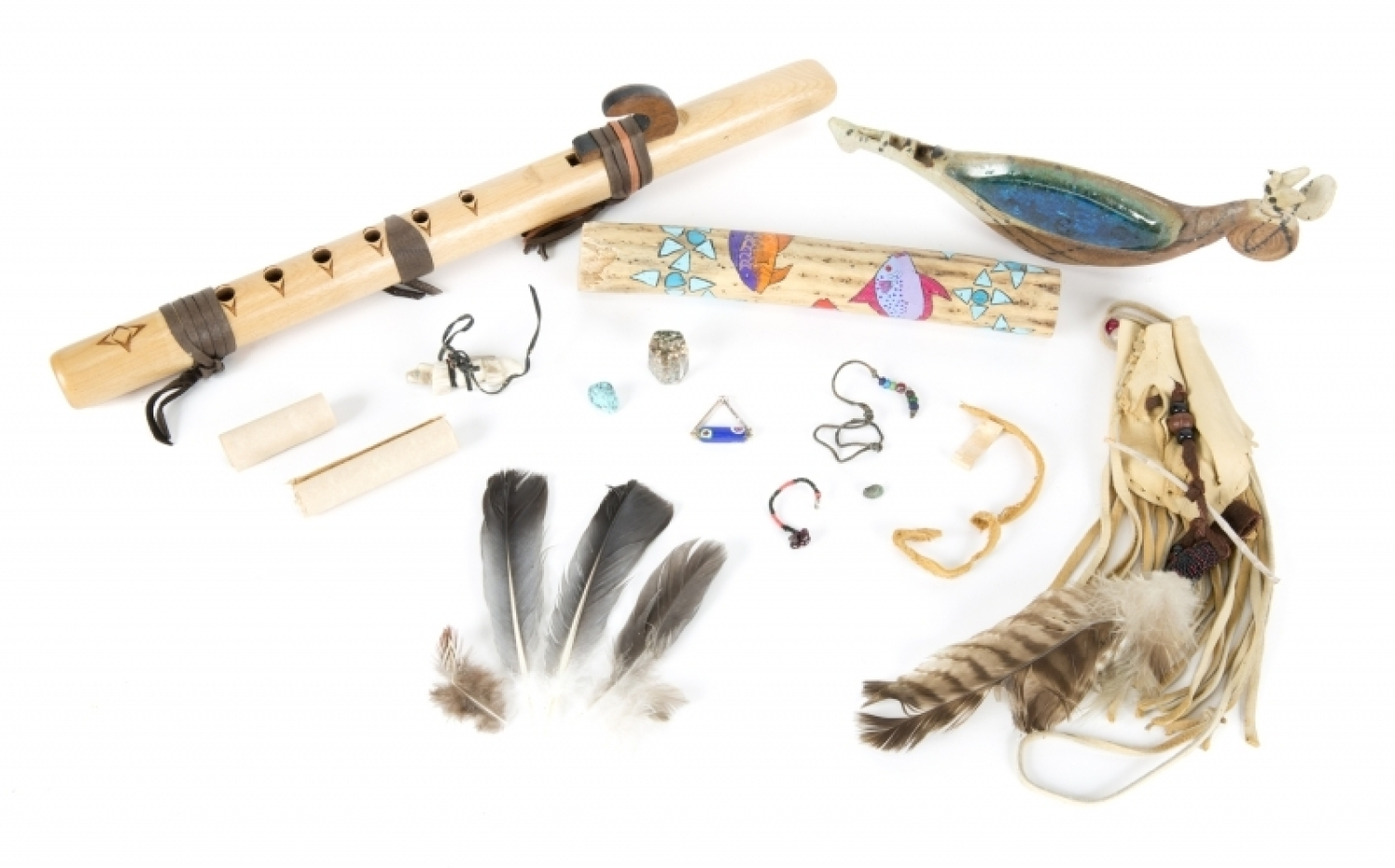 PATRICK SWAYZE NATIVE AMERICAN SPIRITUAL ITEMS - Current price: $600