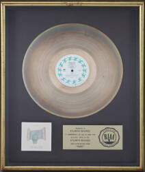 "GENESIS ""GOLD"" RECORD AWARD FOR ""DUKE"""