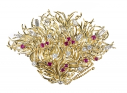 DORIS ROBERTS TIFFANY & CO. BROOCH