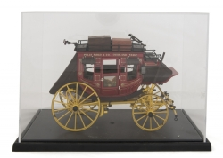 SHIRLEY JONES FRANKLIN MINT STAGECOACH