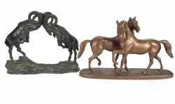 SHIRLEY JONES ANIMAL BRONZES