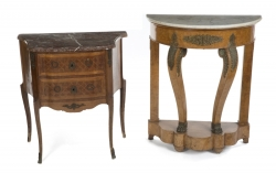SHIRLEY JONES TWO OCCASIONAL TABLES