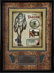 "PHIL COLLINS ""TARZAN"" DISPLAY"