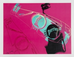 Andy Warhol (after) - Perrier (Pink)