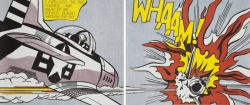 Roy Lichtenstein - Whaam! (Diptych)