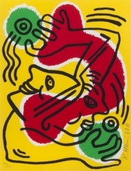 Keith Haring - United Nations International Volunteer Day