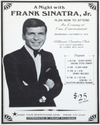 FRANK SINATRA JR. POSTERS AND MAGAZINE
