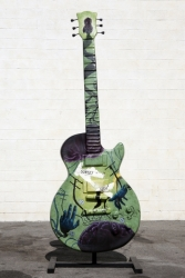 THE CONSCIOUS MIND GUITAR SCULPTURE - ELIZABETH MERRITT KONG o