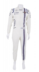 VALTTERI BOTTAS 2015 F1 RACE WORN WILLIAMS FIRESUIT