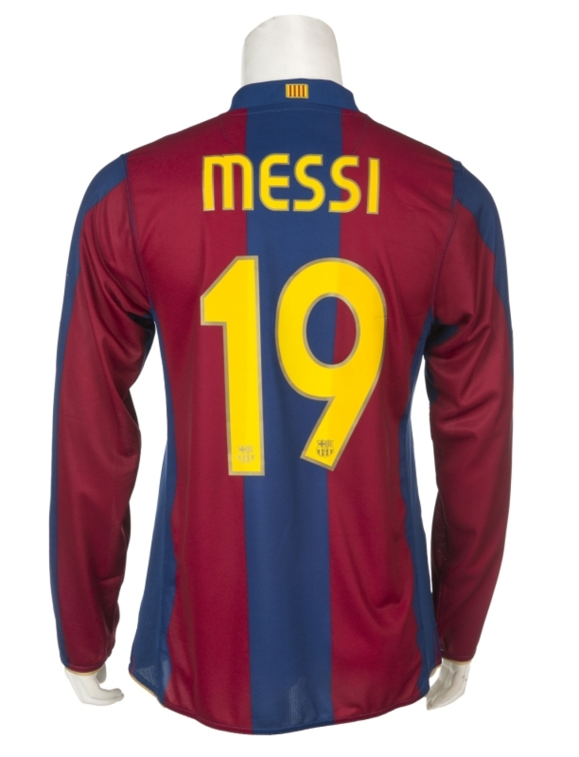 f0ecf3dbd5c LIONEL MESSI 2007 FC BARCELONA NUMBER 19 MATCH WORN JERSEY Please Wait...  Click image to enlarge