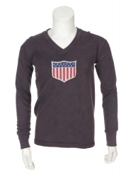 JAMES (JIMMY) DOUGLAS POST-1930 WORLD CUP USA MATCH WORN JERSEY WITH MEDAL