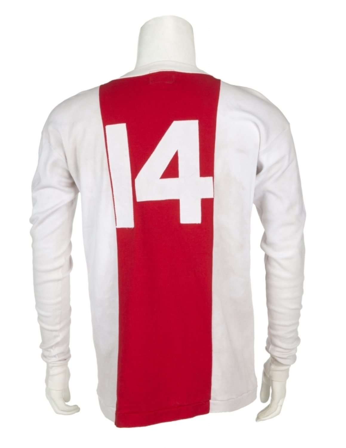 ad0a16de9 JOHAN CRUYFF MATCH WORN 1972 AJAX JERSEY Please Wait... Click image to  enlarge