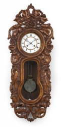 GROUP OF THREE 19TH CENTURY WALL CLOCK