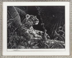 GRISAILLE PAINTING AND BLACK AND WHITE PRINT