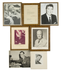 UNITED STATES PRESIDENTS SIGNED PHOTOGRAPHS