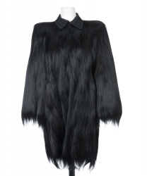 MARILYN MONROE WORN BLACK COLOBUS COAT