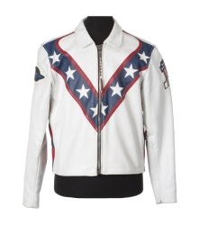 EVEL KNIEVEL LEATHER JACKET