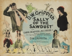 SALLY OF THE SAWDUST LOBBY CARDS