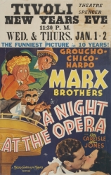 NIGHT AT THE OPERA POSTER