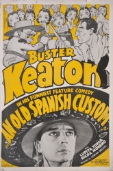 BUSTER KEATON LOBBY CARDS AND POSTER