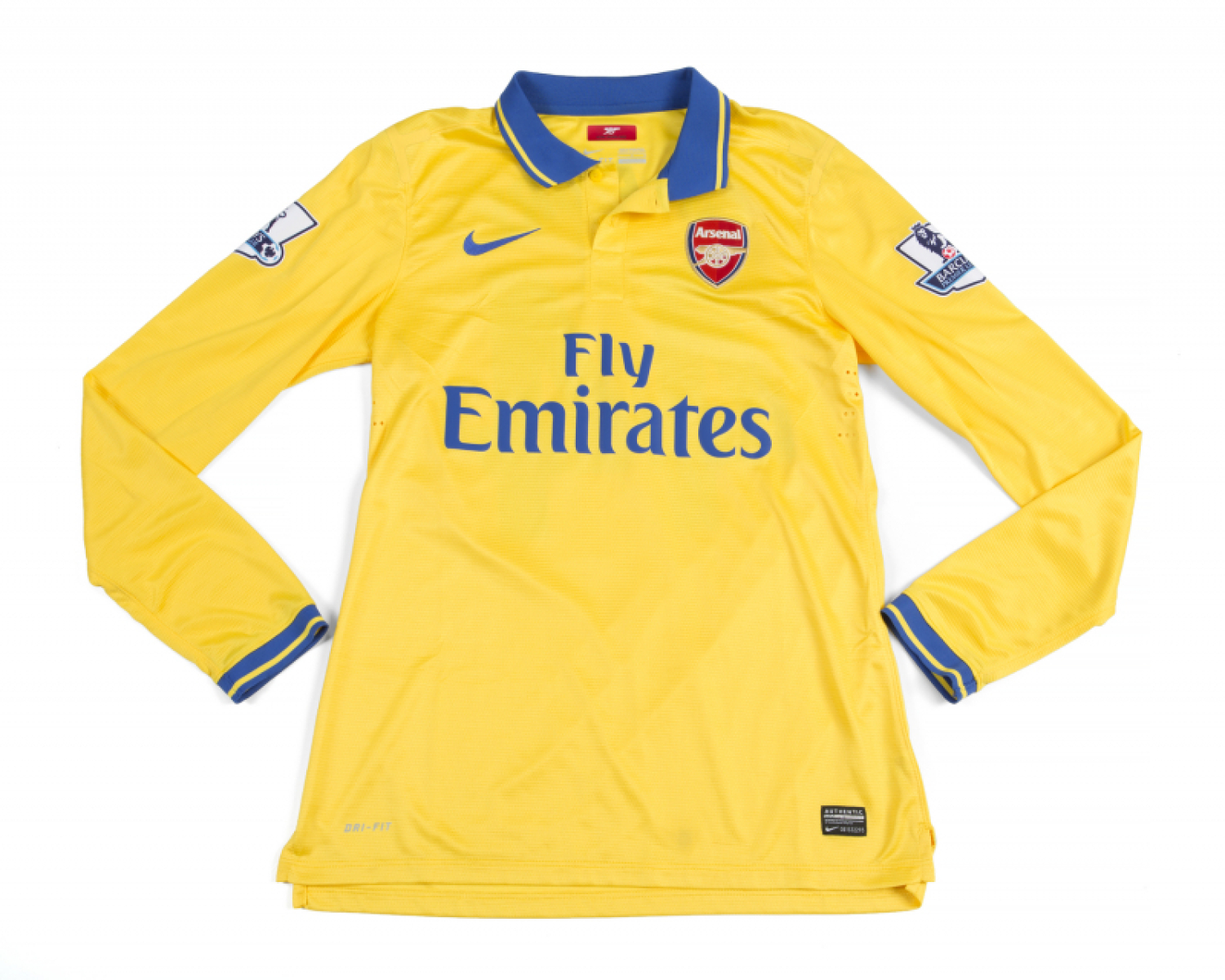 cheap for discount c06b2 82fcf SERGE GNABRY 2013 ARSENAL FC TEAM ISSUED JERSEY - Price ...