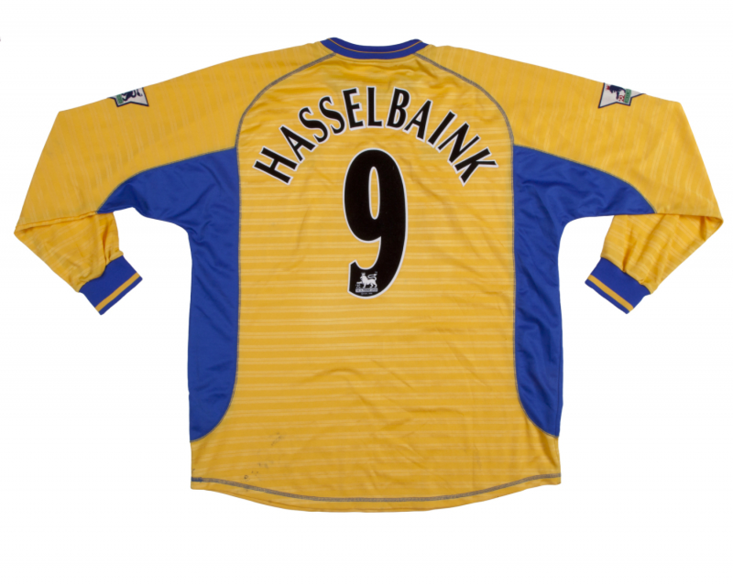 sale retailer 7f7d2 f32fb JIMMY FLOYD HASSELBAINK SIGNED 2001-2002 CHELSEA FC MATCH ...
