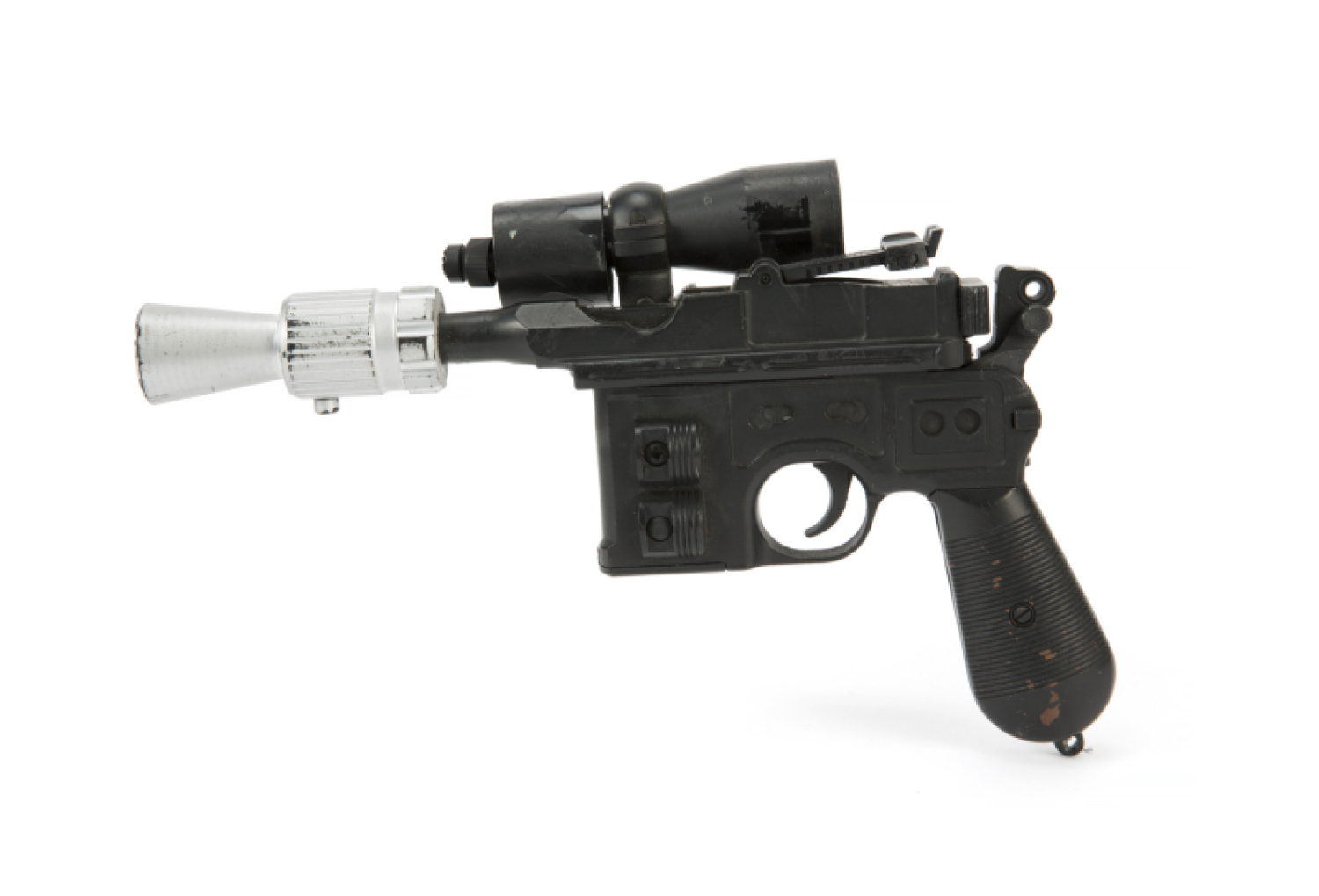 SPECIAL PRICE Blue Han Solo Gun//Blaster  Weapon REPRO Star Wars for Vintage