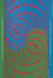 PSYCHEDELIC ACID ROCK CONCERT POSTERS (FAMILY DOG FD68