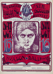 PSYCHEDELIC ACID ROCK CONCERT POSTERS (FAMILY DOG FD36