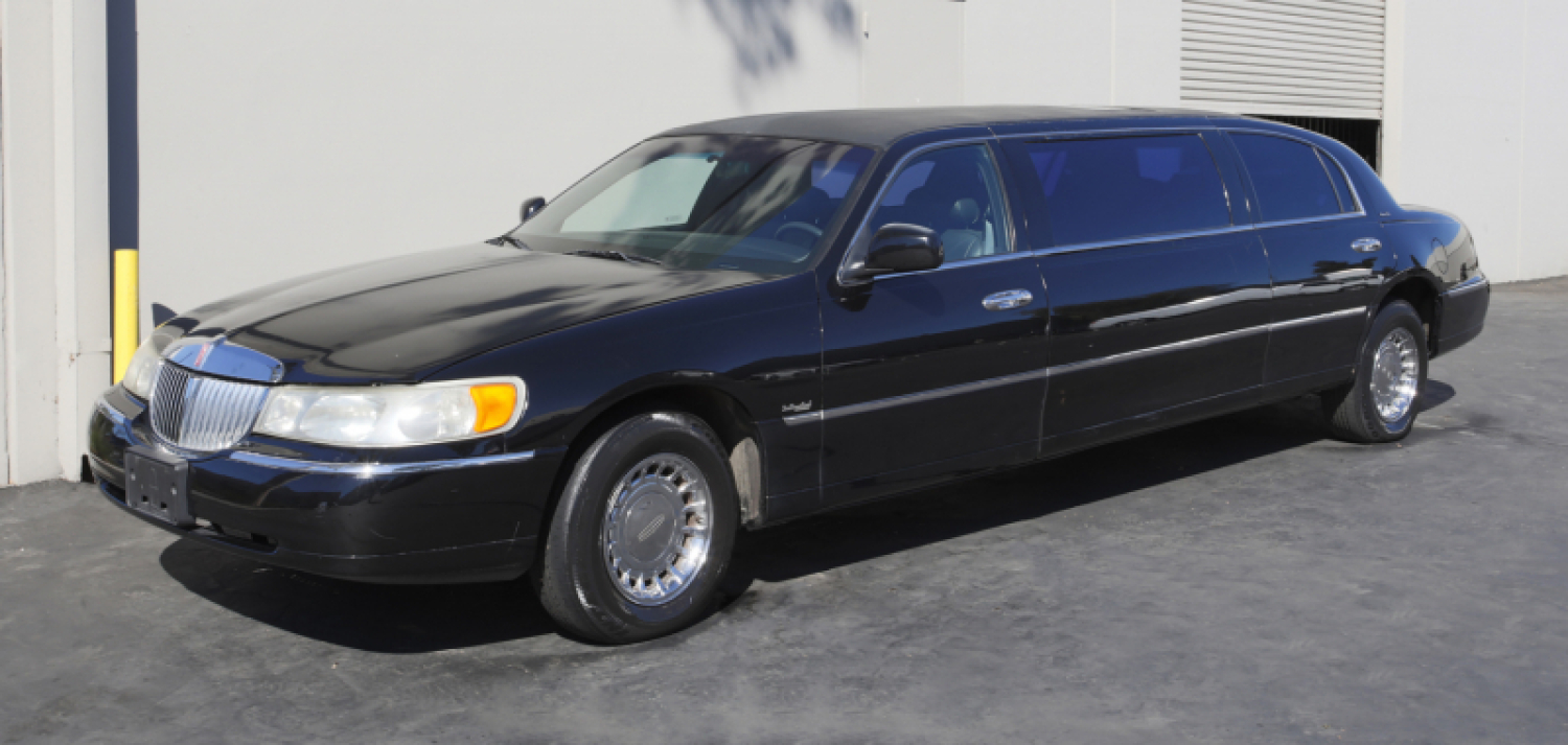 Hugh Hefner 1998 Lincoln Town Car Executive Limousine Price