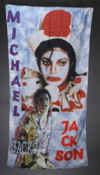 MICHAEL JACKSON SIGNED BANNER