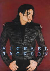 MICHAEL JACKSON SIGNED POSTER