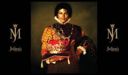 MICHAEL JACKSON EXHIBITION PORTRAIT SCRIM