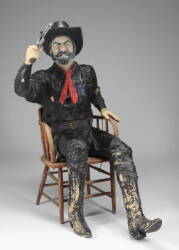 MICHAEL JACKSON NEVERLAND RANCH LIFE SIZE FIGURE OF A COWBOY