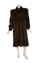 BETTE DAVIS RANCH MINK COAT