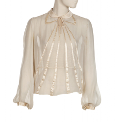 ELIZABETH TAYLOR BLOUSE WORN WITH MONTGOMERY CLIFT