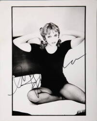 MADONNA SIGNED HERB RITTS PHOTOGRAPH