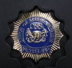 NEVERLAND OSS BADGE