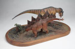 GROUP EIGHT OF REPLICA DINOSAUR MODELS
