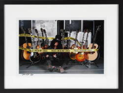 GENE KIRKLAND PHOTOGRAPH OF SLASH
