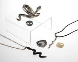 GROUP ONE OF SNAKE THEMED JEWELRY
