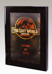 JURASSIC PARK THE LOST WORLD LENTICULAR POSTER