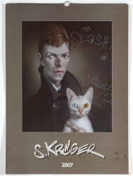 TWO SEBASTIAN KRUGER LARGE FORMAT CALENDARS