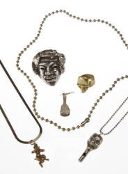 GROUP OF SATYR JEWELRY