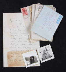 MARLENE DIETRICH HANDWRITTEN WARTIME LETTERS AND PHOTOGRAPHS
