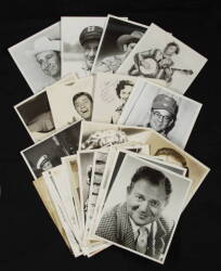 COLLECTION OF CELEBRITY PHOTOGRAPHS INSCRIBED TO PEPPER BLETHEN