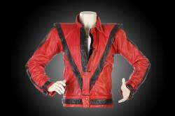 "MICHAEL JACKSON VIDEO WORN ""THRILLER"" JACKET"