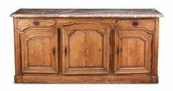 FRENCH PROVINCIAL OAK CABINET