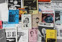 "ARCHIVE OF ""STAR TREK"" FANZINES"